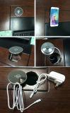 Tabela de móveis de mesa Qi Wireless Charger