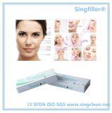 Ce Singfiller inyección de relleno dérmico hialuronato sódico de Relleno facial Gel
