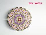 Sottobicchiere del materiale di ceramica di figura del fiore, stuoia della prova di calore della stuoia della tazza