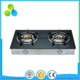 Стеклянная газовая плита горелки верхней части 4 с печью