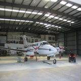 Hangar del aeroplano de la estructura de acero con alta calidad