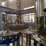 Автоматический выпивая завод минеральной вода разливая по бутылкам заполняя