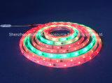 RGB IP67フルカラーSMD5050チップ30LEDs 9W DC12V LEDストリップ