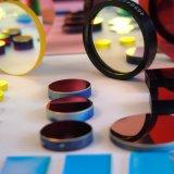 Filtros revestidos vermelhos leves da imagem latente para aplicações da visão