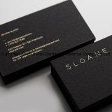 El oro /plateados de aluminio estampado en caliente para el nombre de la tarjeta de negocios tarjeta
