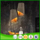 Светильник конкретного светлого цемента конструкции способа привесной