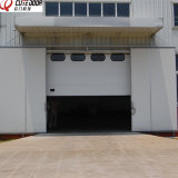 Стандартная грузоподъемность полиуретановой пены крупные промышленные двери на заводе