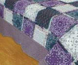 超音波印刷されたキルトの寝具シート