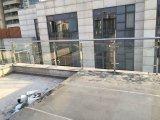 Balustrade extérieure de l'acier inoxydable 304 et en verre Tempered