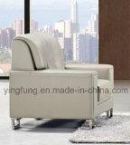 Bset che vende il sofà di cuoio dell'ufficio dell'unità di elaborazione con di base metallica (SF-603)