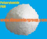 陰イオンかカチオンまたは非イオンのポリアクリルアミドの粉または粒状