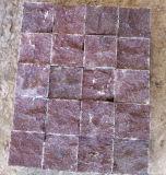 포장을%s Sudes 최고 자연적인 쪼개지는 빨간 반암 옥외 돌