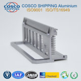 profil 6063-T5 en aluminium pour le radiateur avec l'usinage de commande numérique par ordinateur