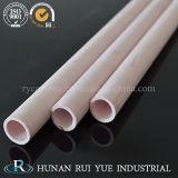 Resistente al calor 99.7 alúmina de cerámica aislador del termopar tubos con 2 orificios para horno