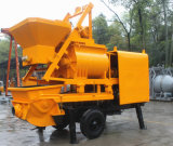 Große Kapazitäts-hohe Leistungsfähigkeits-elektrische Betonpumpe mit Mischer Js500