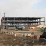 Taller de acero de la construcción del diseño moderno del bajo costo