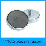 Magneti bassi rotondi di ceramica del ferrito