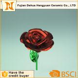 Venda quente que chapeia o fio artificial de Rosa para o dia do Valentim