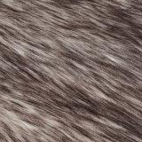 Pelliccia lunga del tessuto a riccio del mackintosh della pelliccia di falsificazione della pelliccia del Faux della pelliccia della pelliccia acrilica del franco