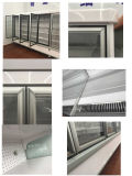 Supermercado Multideck caso utiliza la puerta de cristal Mostrar congeladores