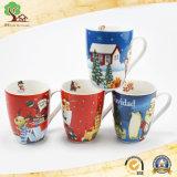 Новая конструкция керамические чашки с адаптированной для печати рождественских подарков
