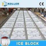 machine de glace comestible du bloc 1ton en se refroidissant directement