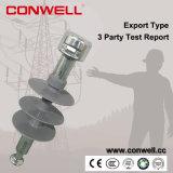 Isoladores 11kv cerâmicos elétricos padrão do IEC de Conwell