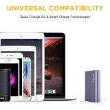 Batería rápida de la potencia de la carga 10000mAh para Smartphone