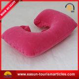 Promoção à prova de travesseiro de viagem infláveis travesseiro para o pescoço