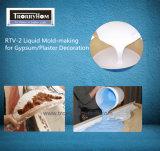 Het Vloeibare Silicone van de Behandeling van het tin voor de Werken van de Decoratie van het Gips