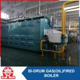 Gás ou petróleo - caldeira industrial despedida