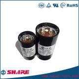 250VAC CD60 유형 알루미늄 모터 시작 축전기