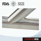 Tipo de acero inoxidable accesorios de tubería Sanitaria Y Tee (JN-FT1012)