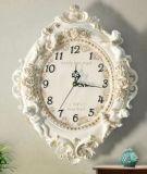 Сад смолаы и домашние часы формы цветка декора