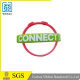 Kundenspezifischer Silikon-Armband-/Silikon-GummiWristband