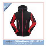 Les hommes de l'hiver imperméables veste de ski Softshell Seam enregistrées