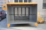 Manual electrostática Sistema de Pintura del polvo Booth y Horno