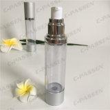 50ml löschen das Kunststoffgehäuse als Siliver luftlose Lotion-Flasche (PPC-ASAB-050)