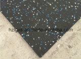 Tegel van de Mat van het Broodje van de Vloer van Vlekken EPDM de Rubber voor de Apparatuur van de Gymnastiek