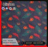 Weiches Handfeel normales Denim-Kleid-Gewebe des Druck-100%Cotton