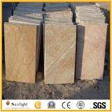 طبيعيّ أسود/رماديّة/صفراء ثقافة حجارة أردواز قراميد لأنّ أرضية /Wall