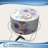 Cadeau de empaquetage de papier rigide de fantaisie /Tea /Clothes bourrant le tube (XC-4-001)