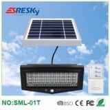 Indicatore luminoso domestico solare esterno della lampada da parete di vendita calda con il regolatore a distanza