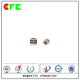Fábrica magnética modificada para requisitos particulares del conector de la C.C. 1pin