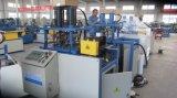 Kein Nagel-Furnierholz-Kasten, der Maschine herstellt