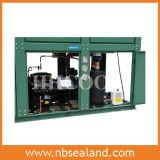 Unidad de condensación paralela del media y de la temperatura alta