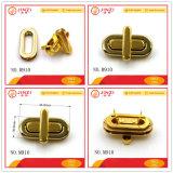 Raccords de sac de faux métal or Sac ovale Twist Lock pour sac à main verrouiller