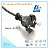 Cable eléctrico de 2 contactos de las ventas calientes aisladas PVC del cobre