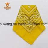 Sciarpa quadrata del cotone stampata abitudine calda di vendita