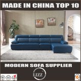 Moderne Couch-italienischer Entwurf L Form-Leder-Sofa